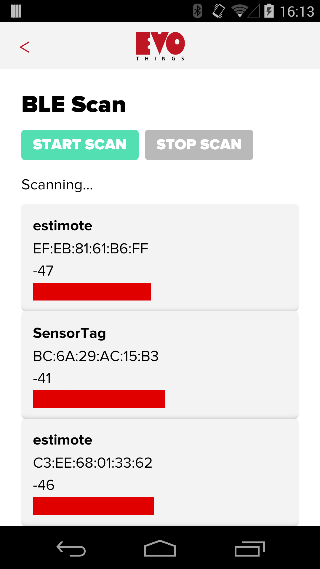 BLE Scan Example